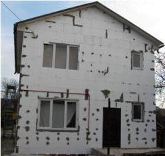 Теплоизоляция фасадов пенополистиролом