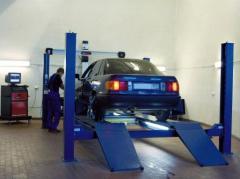 Car service, service stations, STO