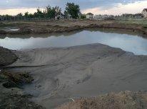 Намыв песка