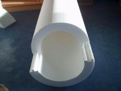 Thermal insulation of pipelines