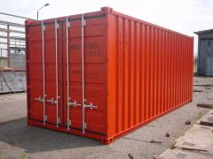 International transport in containers