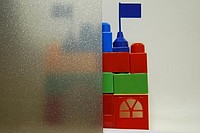 Тонирование витражей декоративной пленкой толщиной