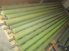 Production of details from polyurethane