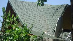 Roofing works, services of roofers