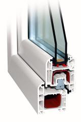 Production of metalplastic windows and doors,