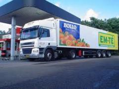 Transportation of agricultural products