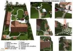 Дизайн проект благоустройства участка
