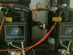 Installation and adjustment of refrigerating