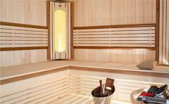 Construction of saunas