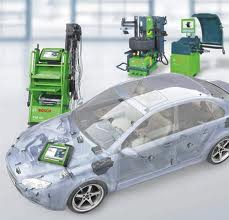 Repair of electric equipment of vehicles