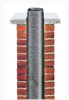 Ремонт дымоходных труб