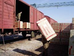 Доставка песка железнодорожным транспортом