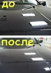 Recovery polishing of cars