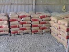 Supply of crushed stone, sand and cemen