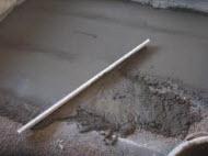 Стяжка и напольные покрытия