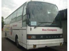 Аренда межгородних автобусов