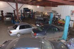 Motor car repairs, repair of engines