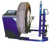 Services of adjustment and balancing of tires and