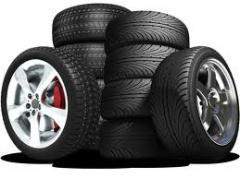 Mounting, repair of wheels of motor transpor