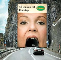 Design of outdoor advertizing