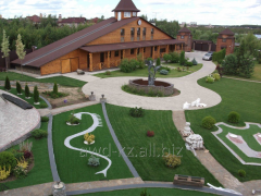 Landscape and greening works