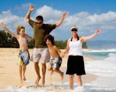 Летний отдых, семейный отдых
