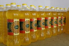 Wholesale deliveries of sunflower oil