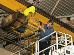 Repair, installation, dismantle of the lifting