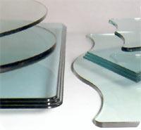 Услуги по обработке и резке стекла и зеркала