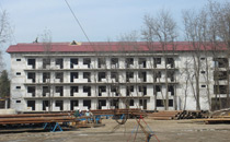 Reconstruction and expansion of sanatorium of