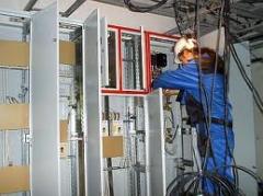 Монтаж электрооборудование
