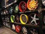 Painting of rims