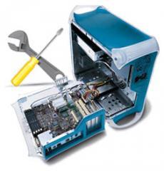 Ремонт компьютеров. Настройка интернет.