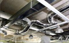 Реконструкция систем вентиляции, Изготовление и