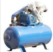 Selection of the compressor equipmen