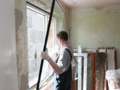 Демонтаж металлопластиковых конструкций, ...