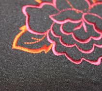 Jointing and embroidery of products