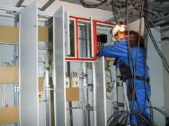 Electric installation work