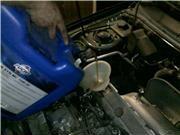 Замена масла в двигателе Кокшетау