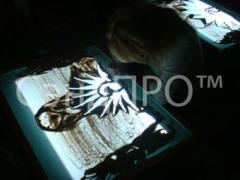 Drawing images on glass - Programma SENDPRO plus