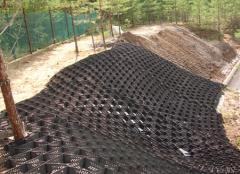 Laying of a geolattice