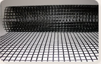 Laying and Installation of a geogrid