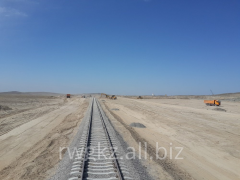 Construction of the railroads