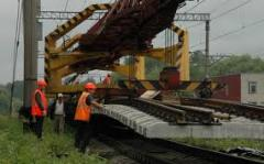 Construction and repair of access railway tracks