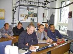 Courses on installation of cable couplings, Technical courses