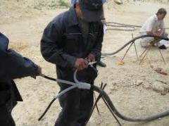 Courses on installation and installations of cable couplings of low voltage, Technical courses