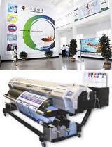 Печать широкоформатная на виниле, сетке, бумаге, самоклейке.