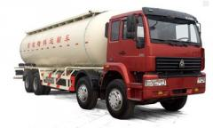 Services of cement trucks in Almaty