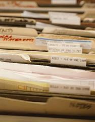 Preparation for destruction of documents