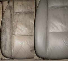 Restoration of leather insides of cars, Repair of